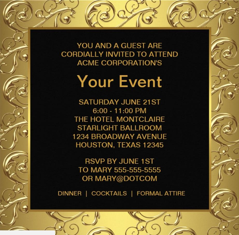 Doc  540210  Office Party Invitation Templates – Office Party