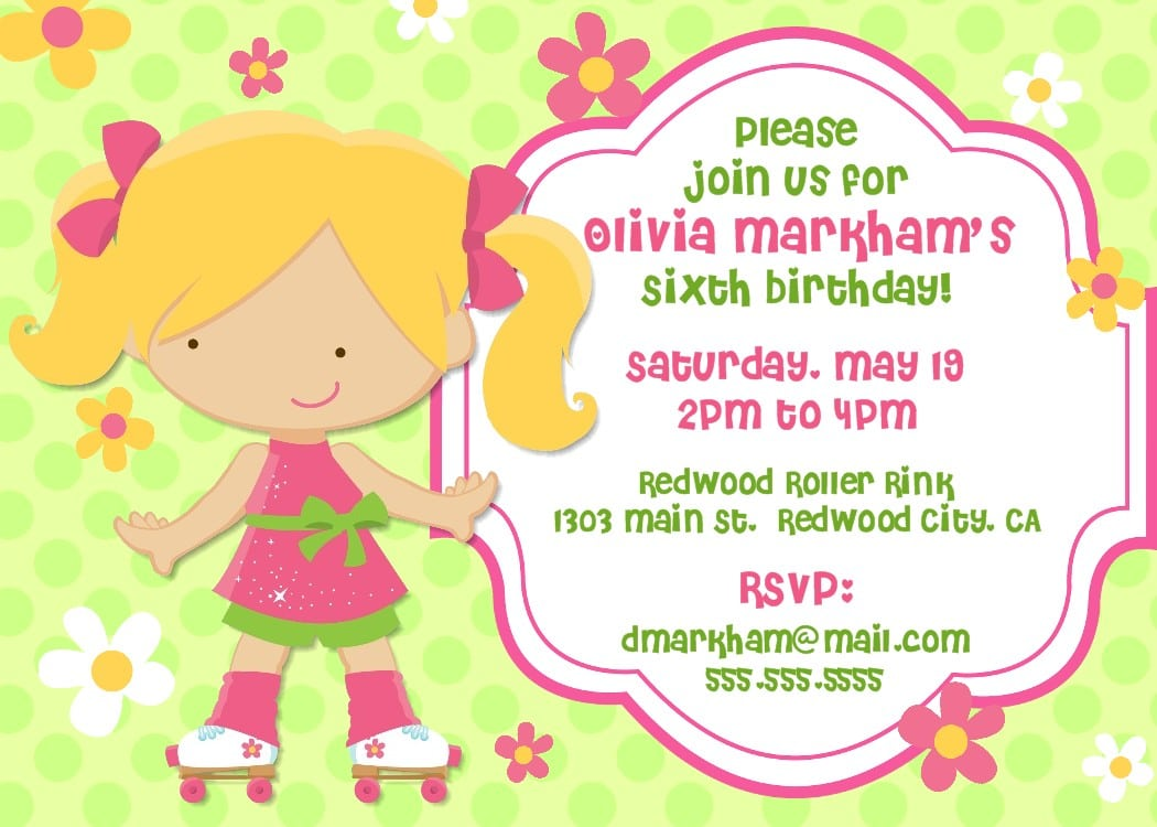 Doc  736588  Free Template For Birthday Invitation – 17 Best