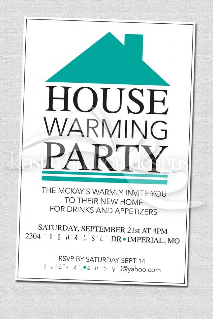 House Warming Party Invitations To Inspire You