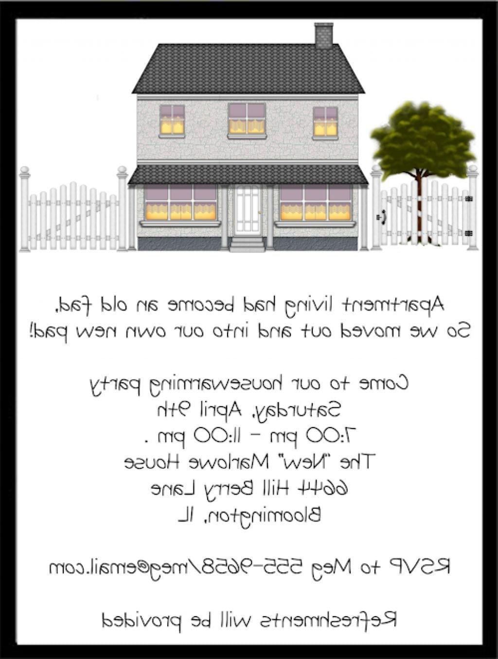 Housewarming Invitations Quotes