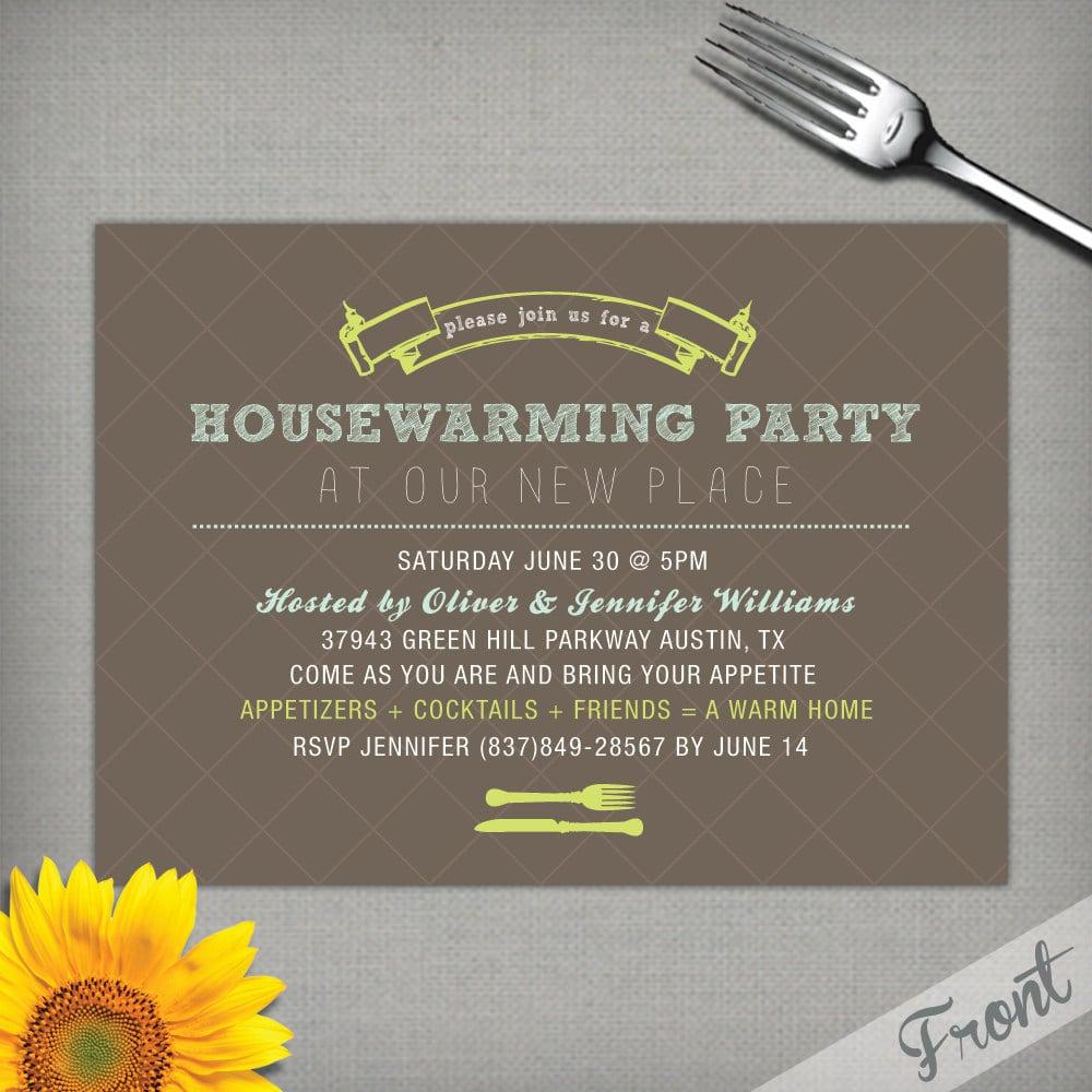 Housewarming Party Invitation Wording – Gangcraft Net