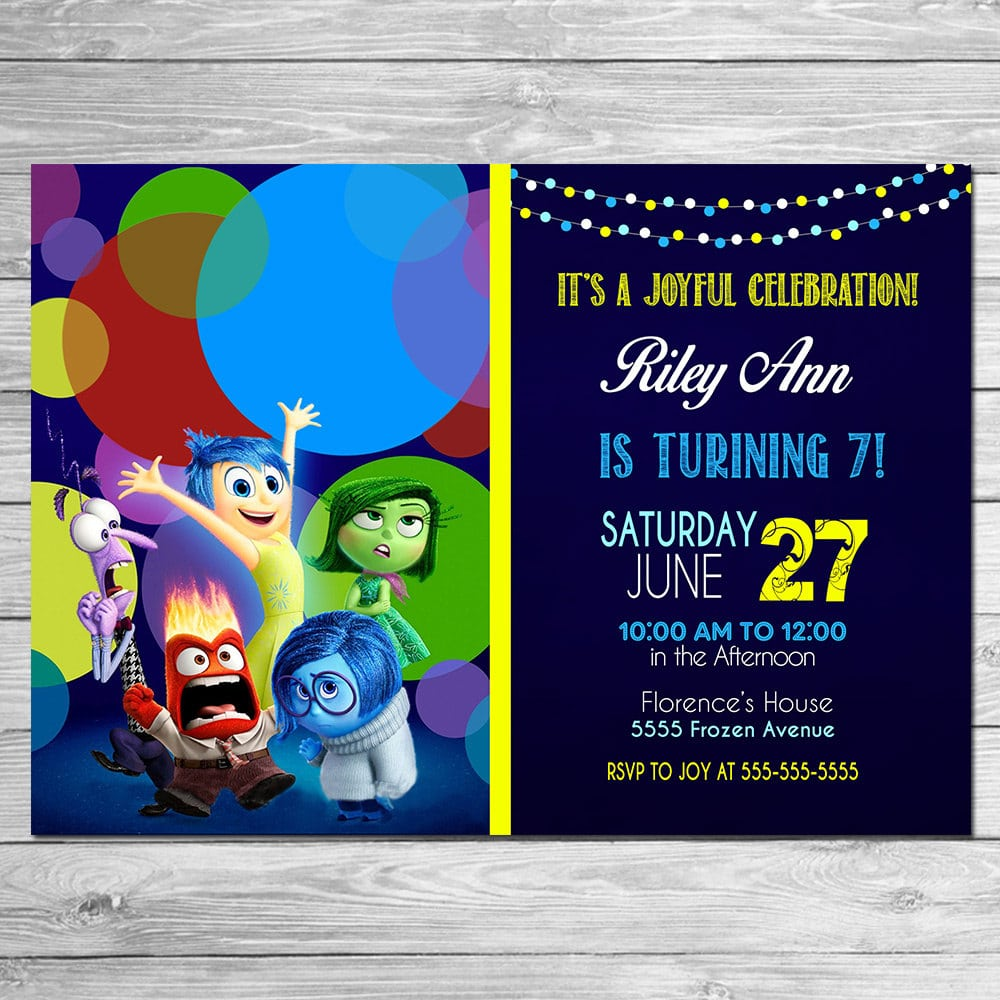 Inside Out Invite