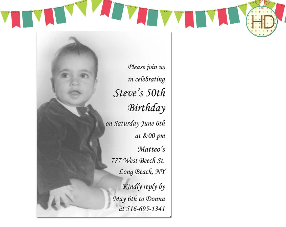 Invitations For 80th Birthday Surprise Party