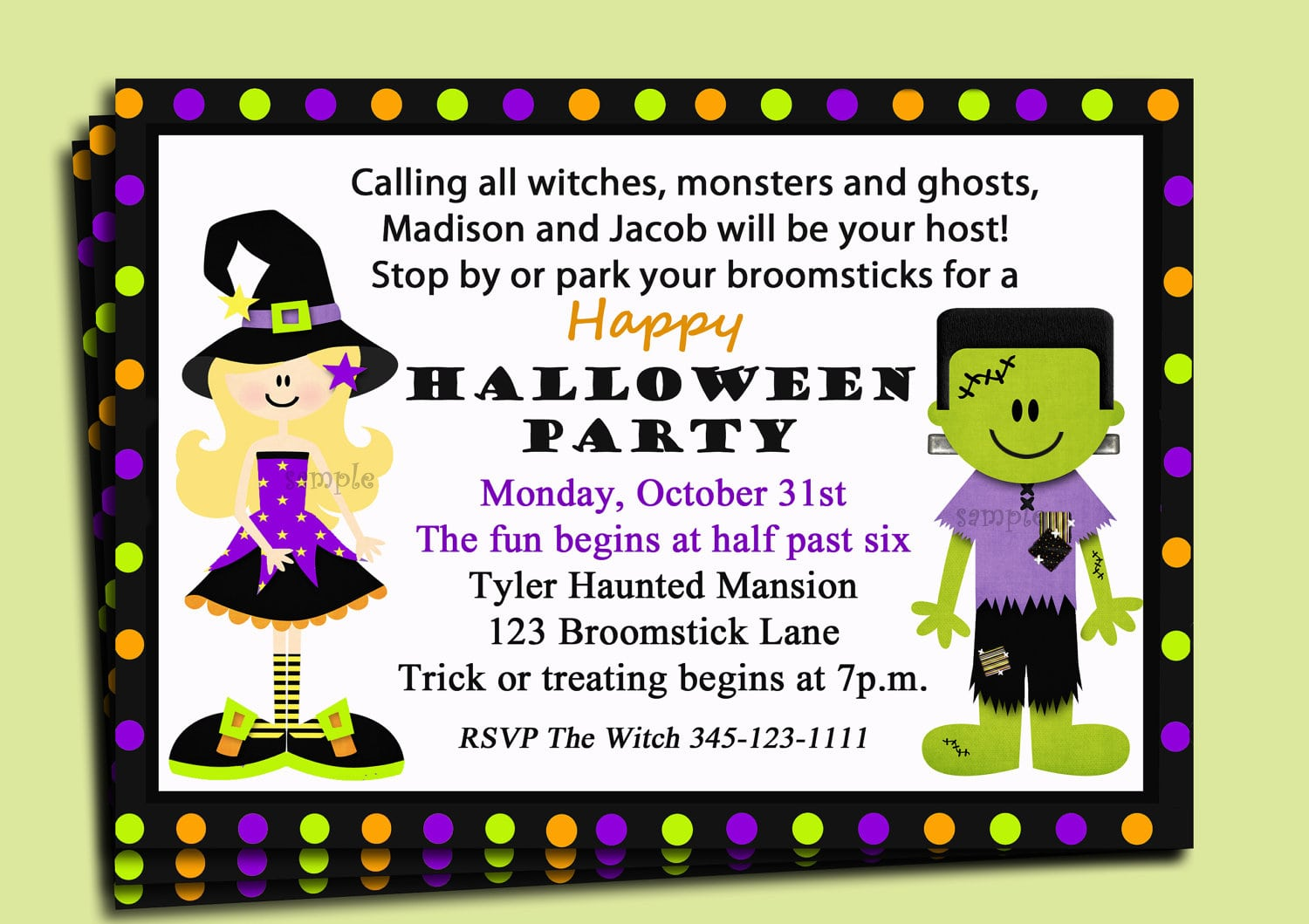 Kids Halloween Party Invitation Wording Fabulous Kids Halloween
