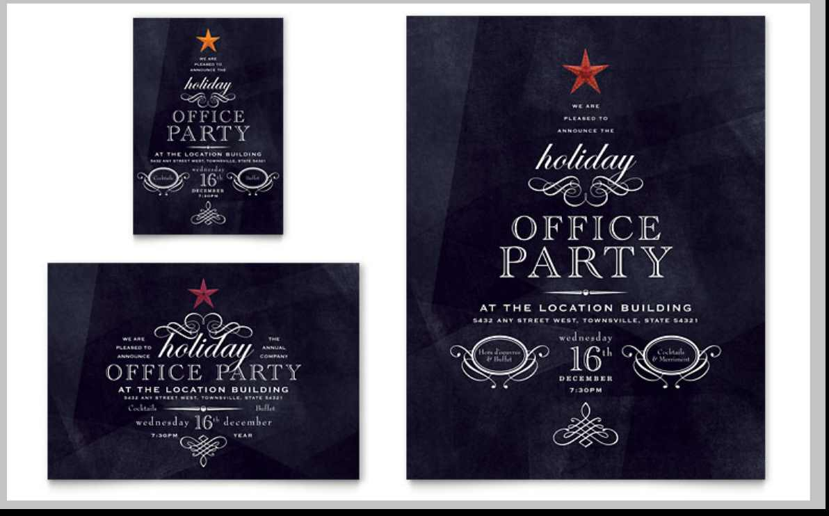 Office Party Invitation Email Template Archives