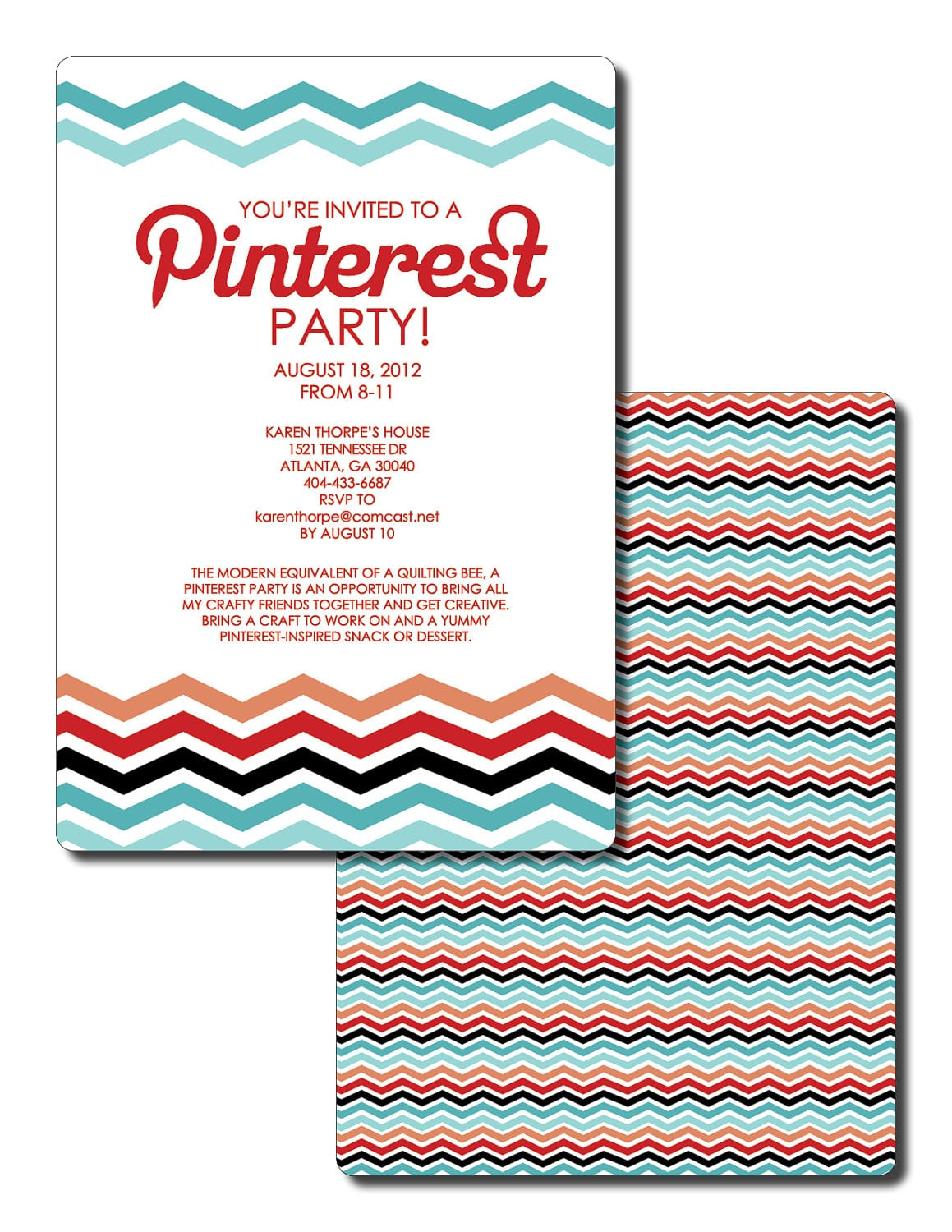 Pinterest Party! Such A Great Idea! Everyone Brings A Pinned Snack