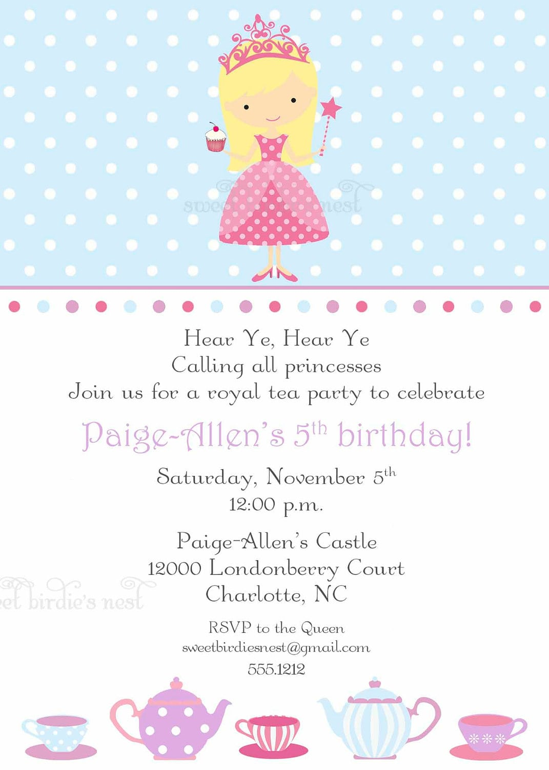 Princess Party Invitations Princess Party Invitations As Party