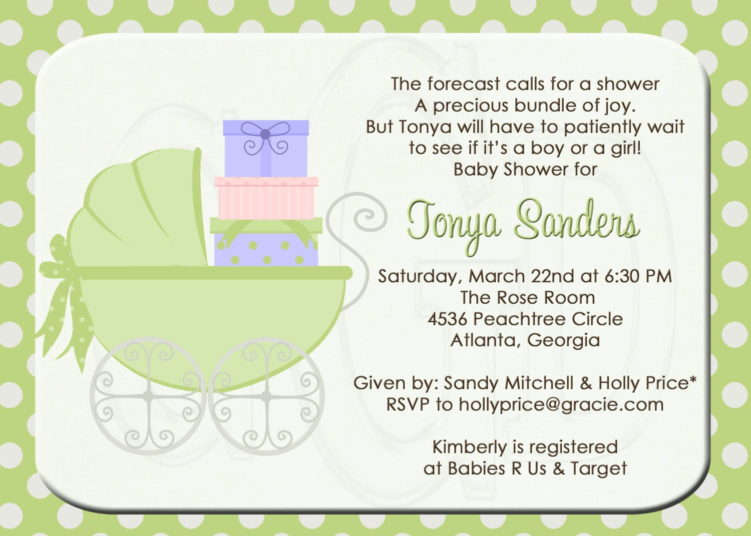 Tips To Write Baby Shower Invite Wording — All Invitations Ideas