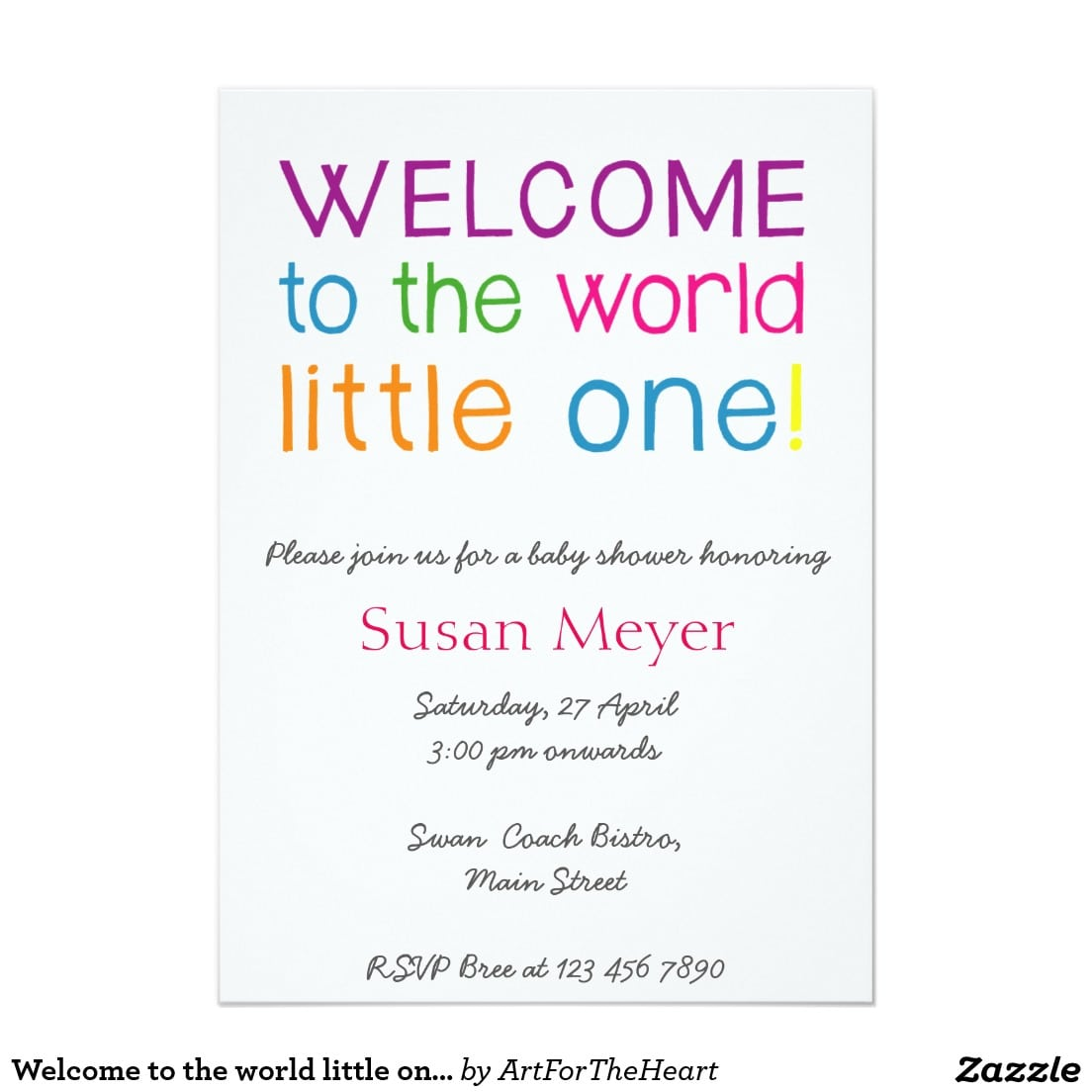 Welcome Baby Party Invitation Wording - Mickey Mouse Invitations ...