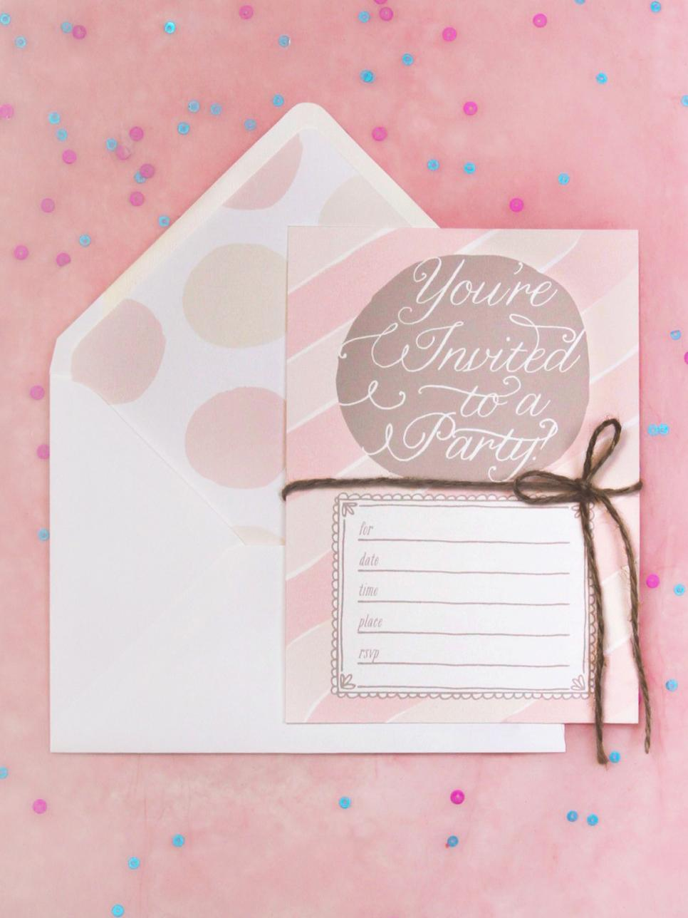 16 (free!) Printable Party Invitations For Any Occasion