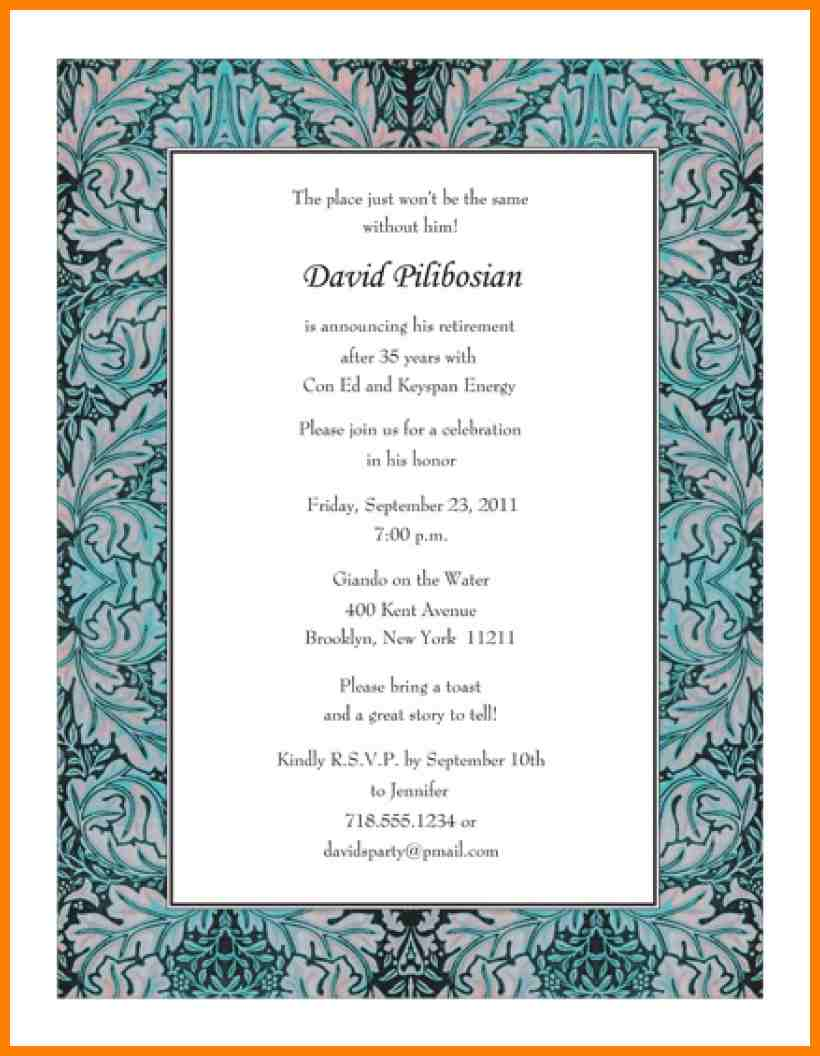5+ Party Invitation Letter Sample