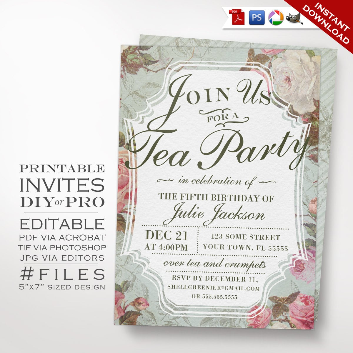 Downloadable Party Invitations