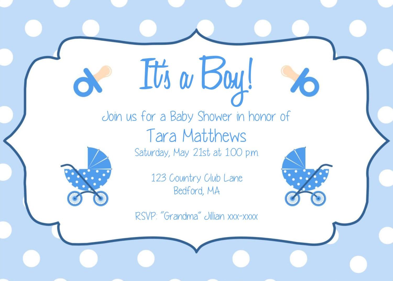 Baby Birth Party Invitation