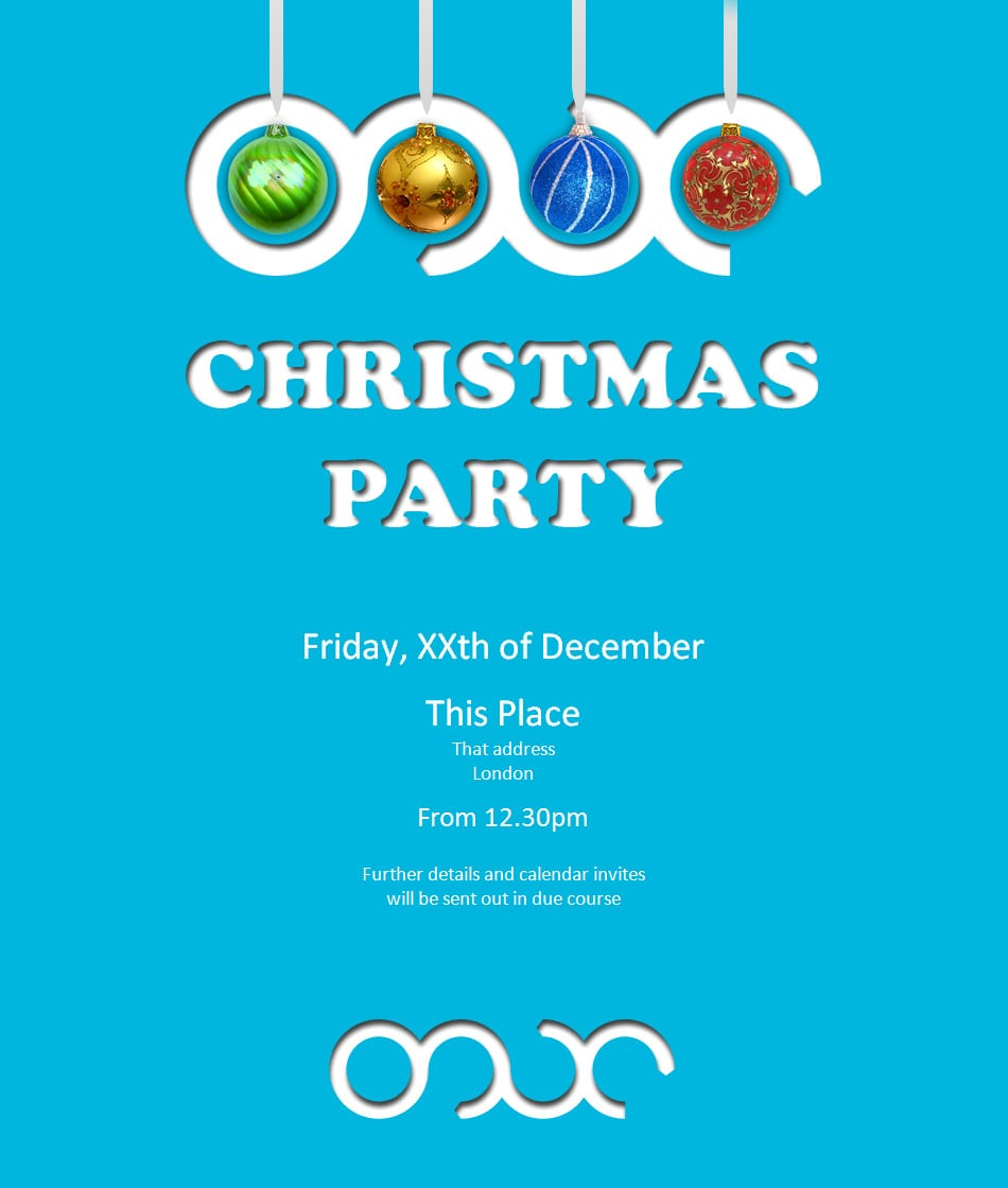Christmas Party Invitation 2012