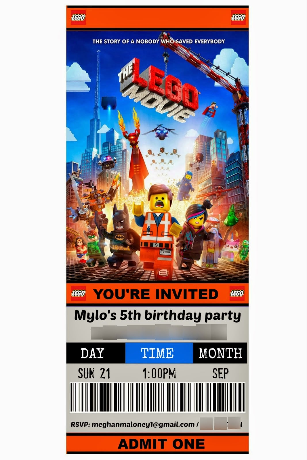 How To  The Ultimate Lego Movie Theme Party {ideas And Supplies