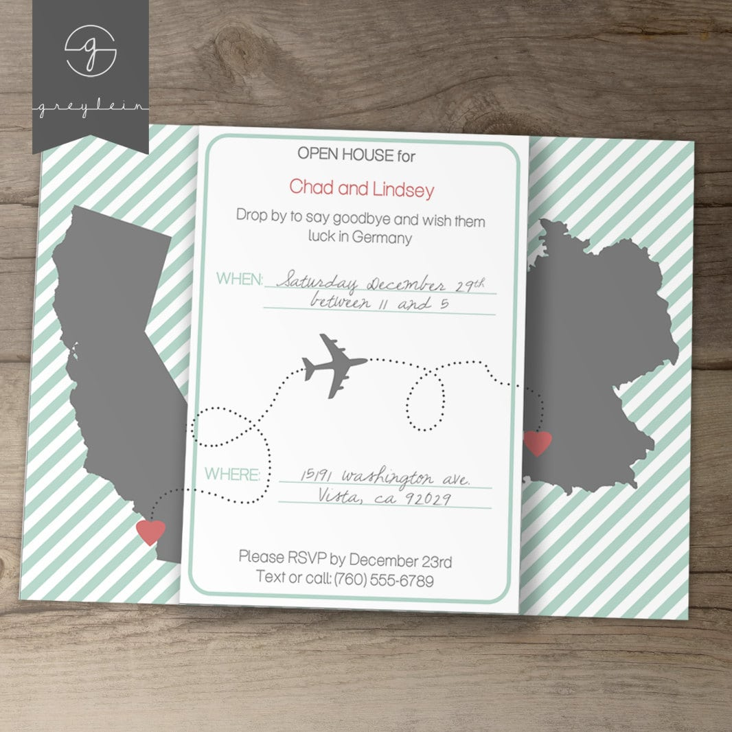 Moving Party Invitation Wording