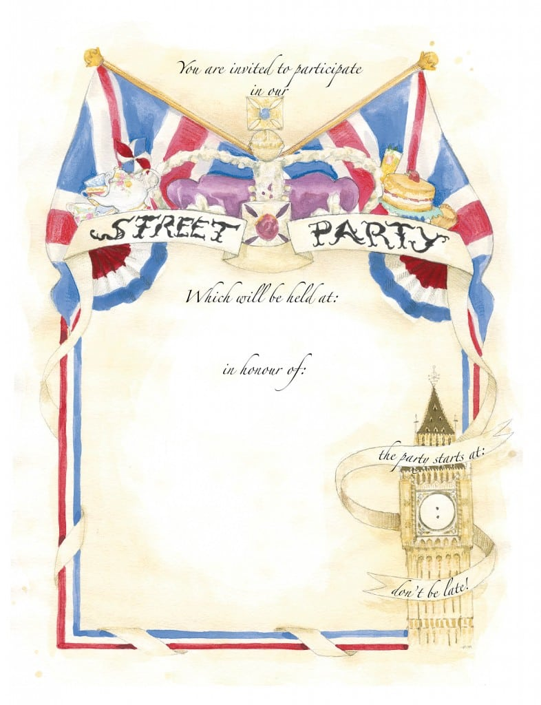 Street Party Invitation Image Collections
