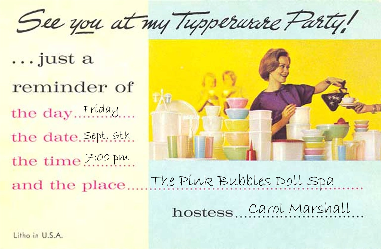 tupperware party invitations - Ideal.vistalist.co