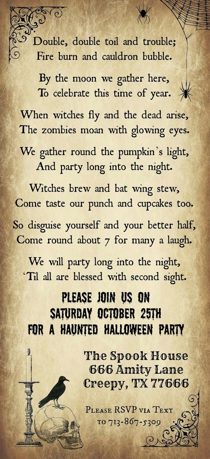 12 Best Halloween Party Ideas For Teens Images On Mickey Mouse Invitations Templates