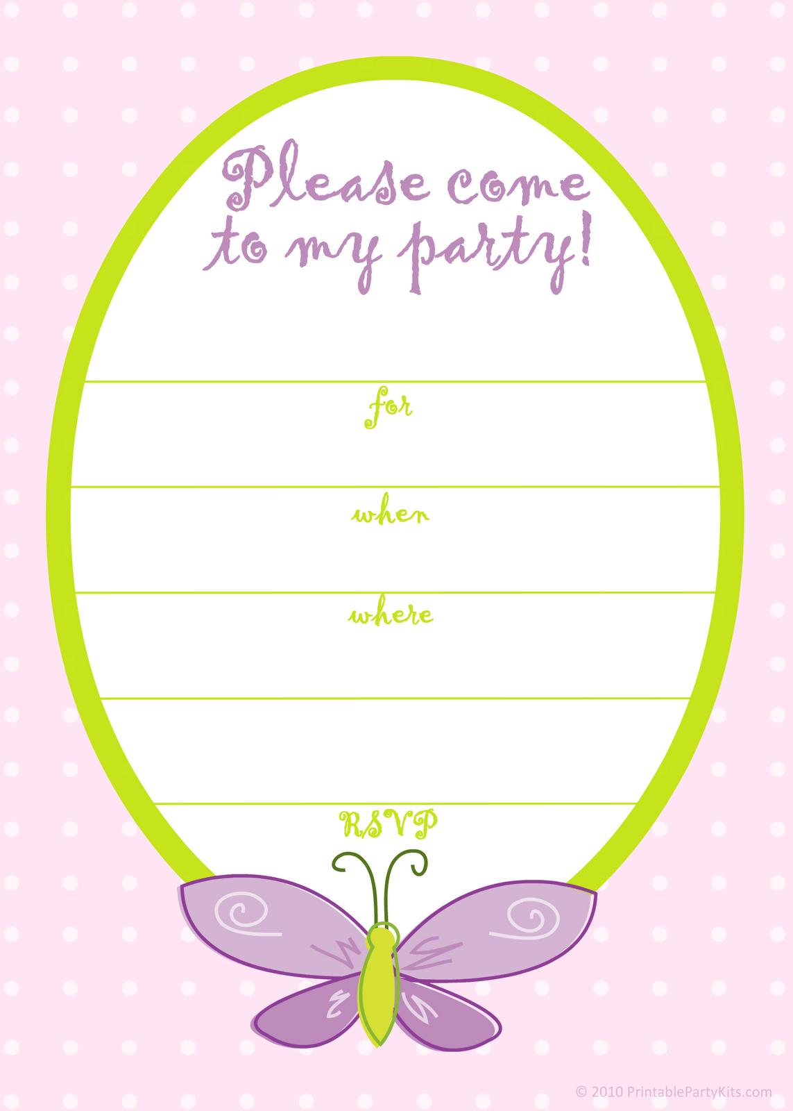 free printable princess invitation templates party invitations ...