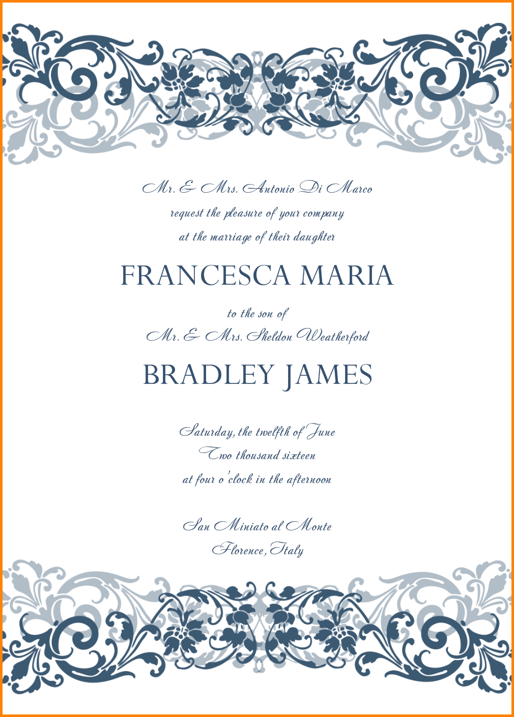 8+ Party Invitation Template Word