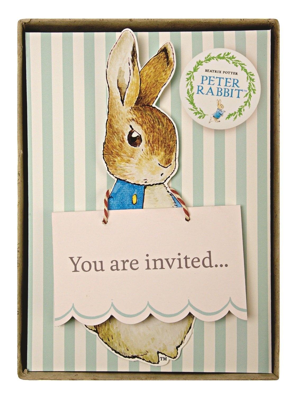 Amazon Com  Meri Meri Party Invitations, Peter Rabbit