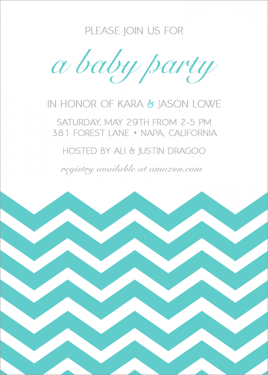 Baby Boy Shower Invitations & Party Invitations For Baby Boy