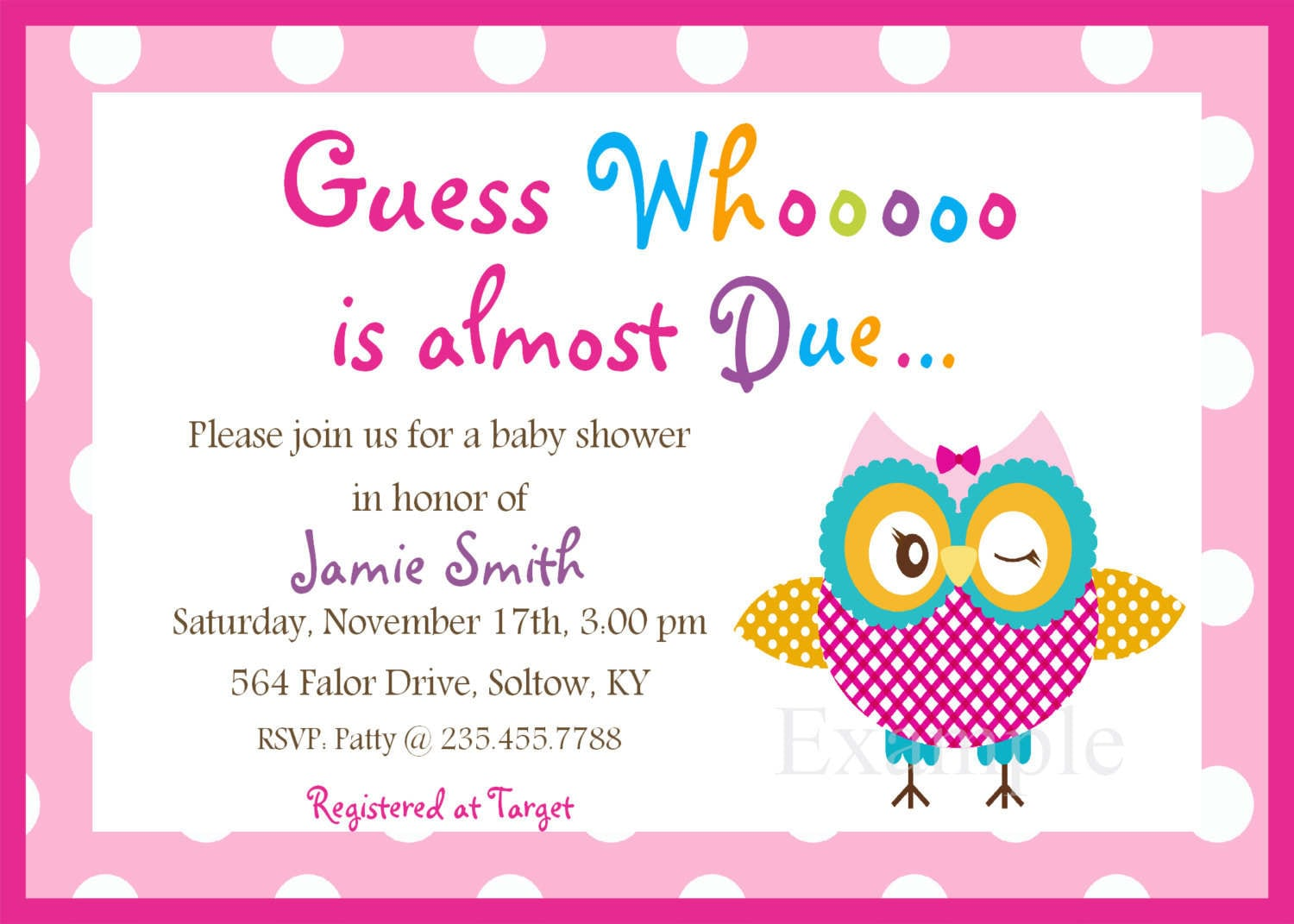Baby Shower Cards Templates