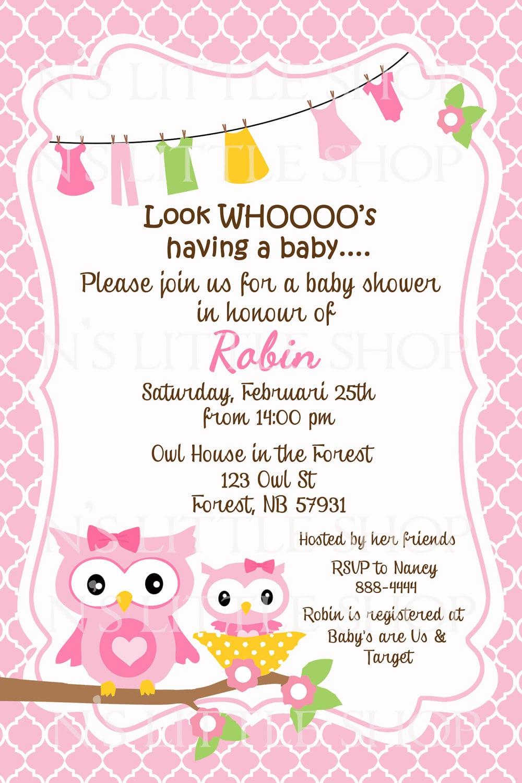 Baby Party Invitation Templates