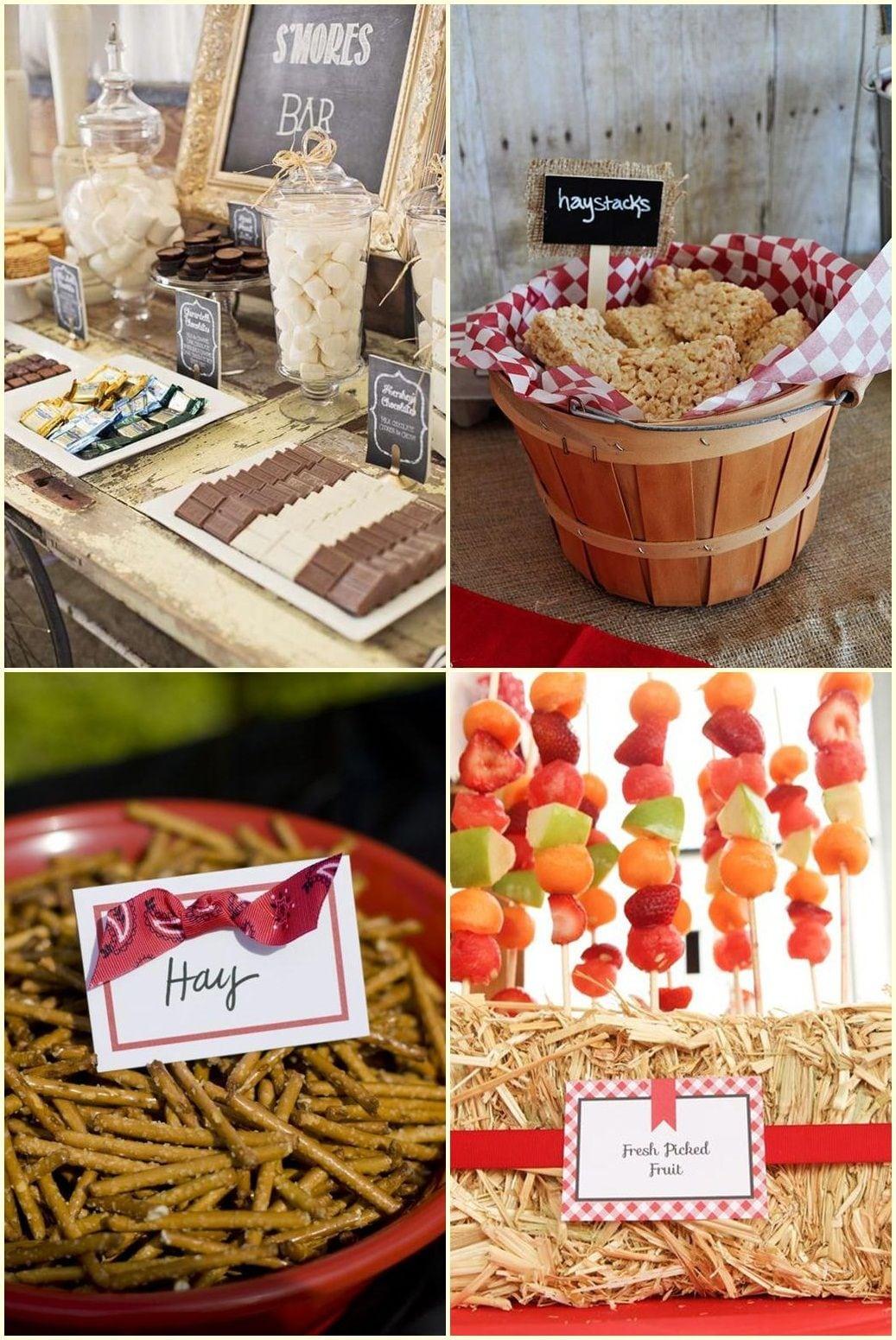 Barn Party Food Ideas