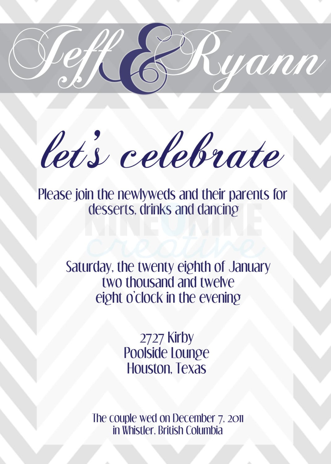 Beautiful Wedding Reception Invitations To Inspire You How To Make