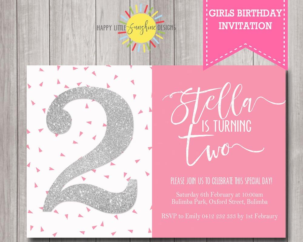 Birthday Invitations Australia
