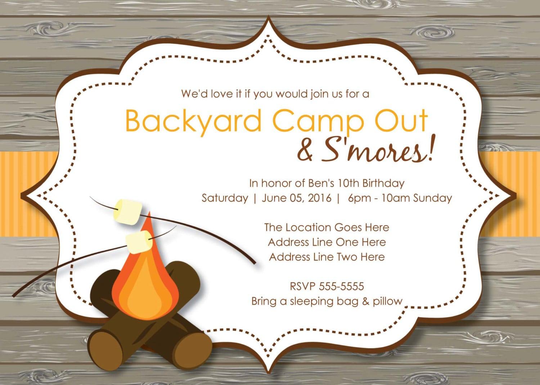 Bonfire Clipart Birthday