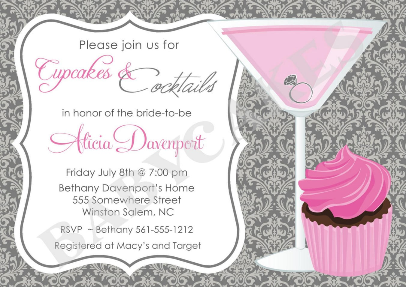 free cocktail party invitation templates