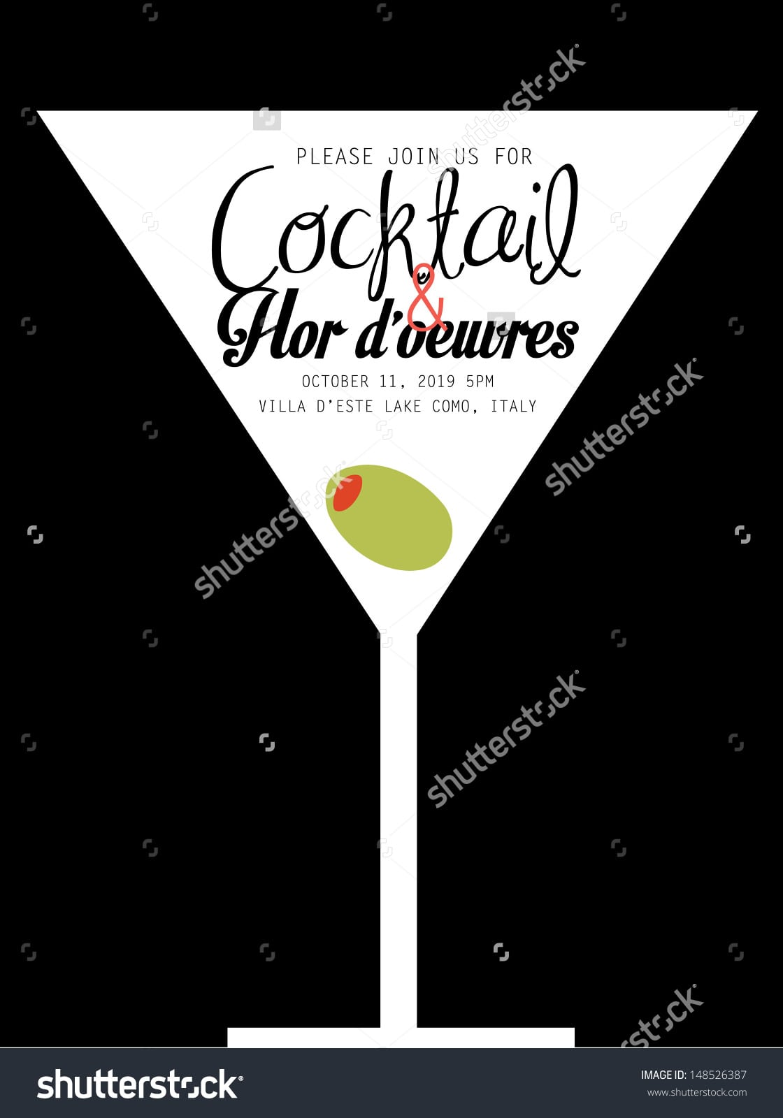 Cocktail Party Invite Templates