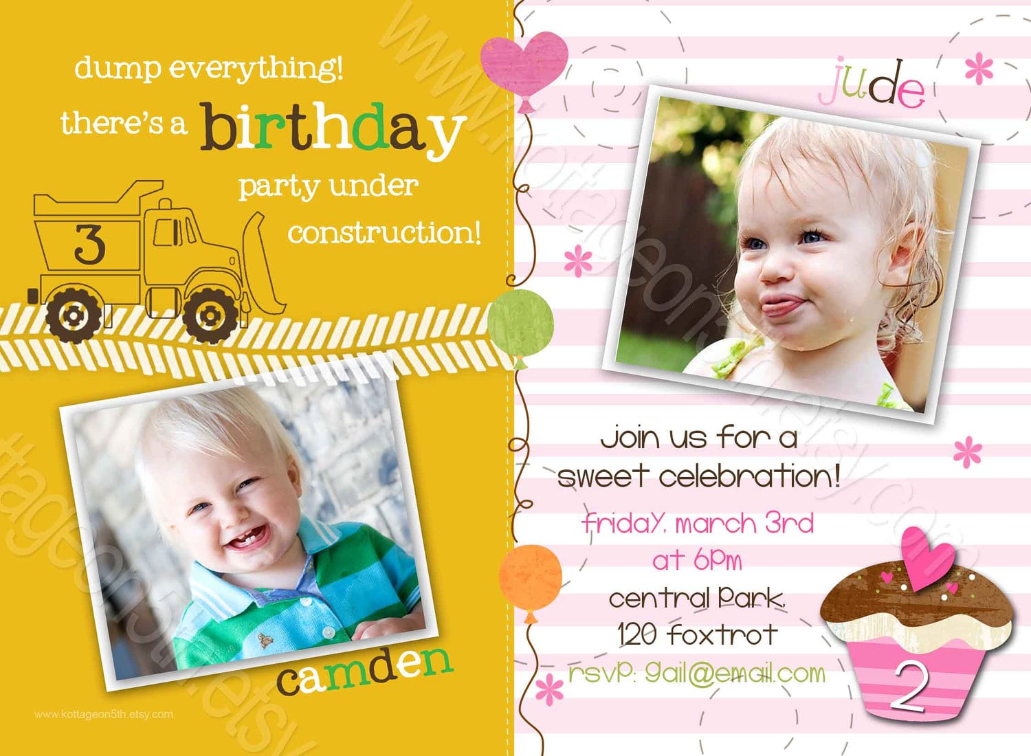 Colors   Joint Birthday Party Invitation Wording For Adults Also