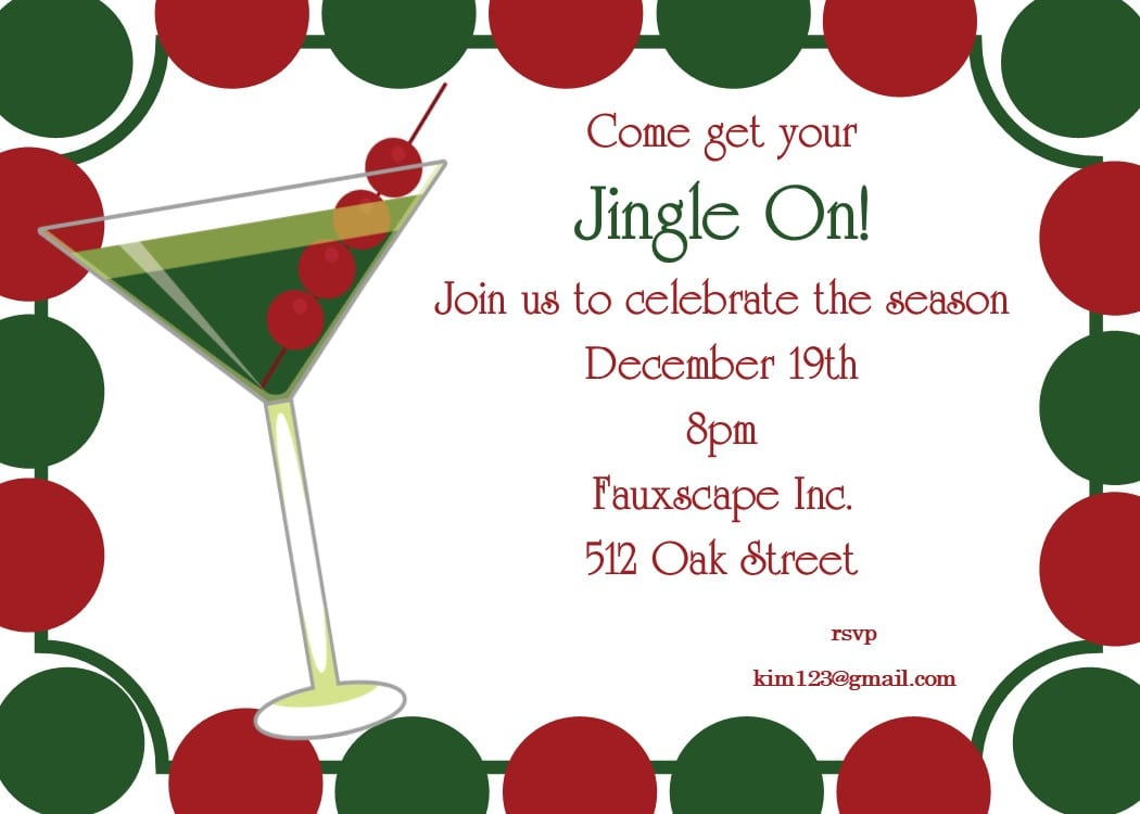 Company Christmas Party Invitations New Selection For 2017