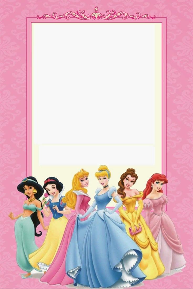 Disney Princess Party  Free Printable Mini Kit  Editable