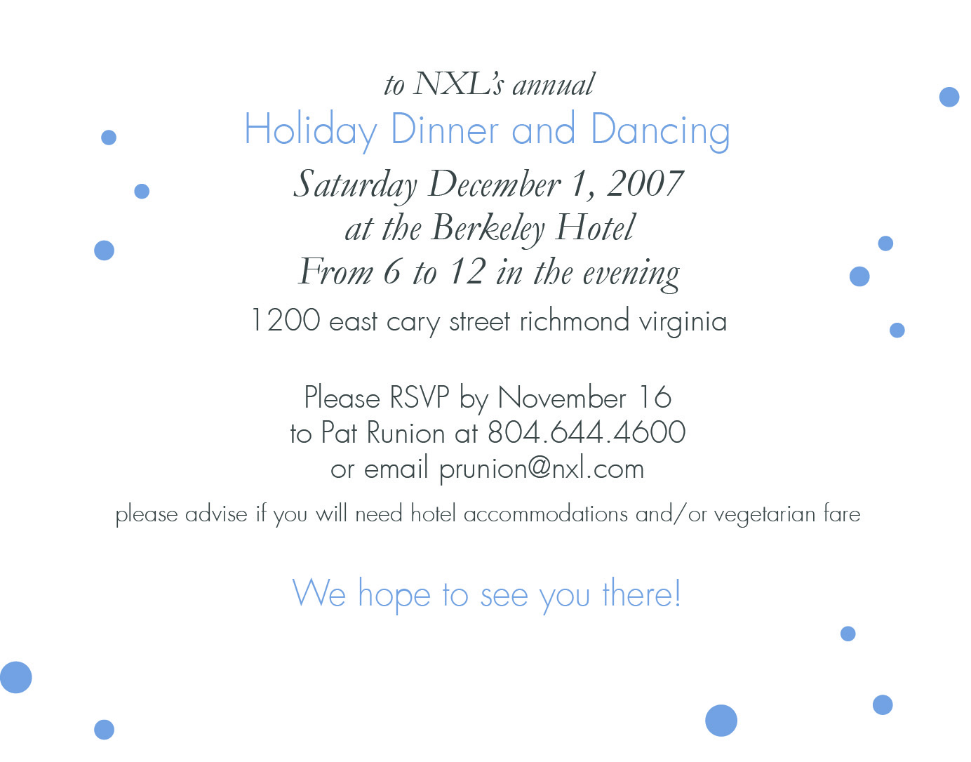 Email Party Invitations Email Party Invitations For The