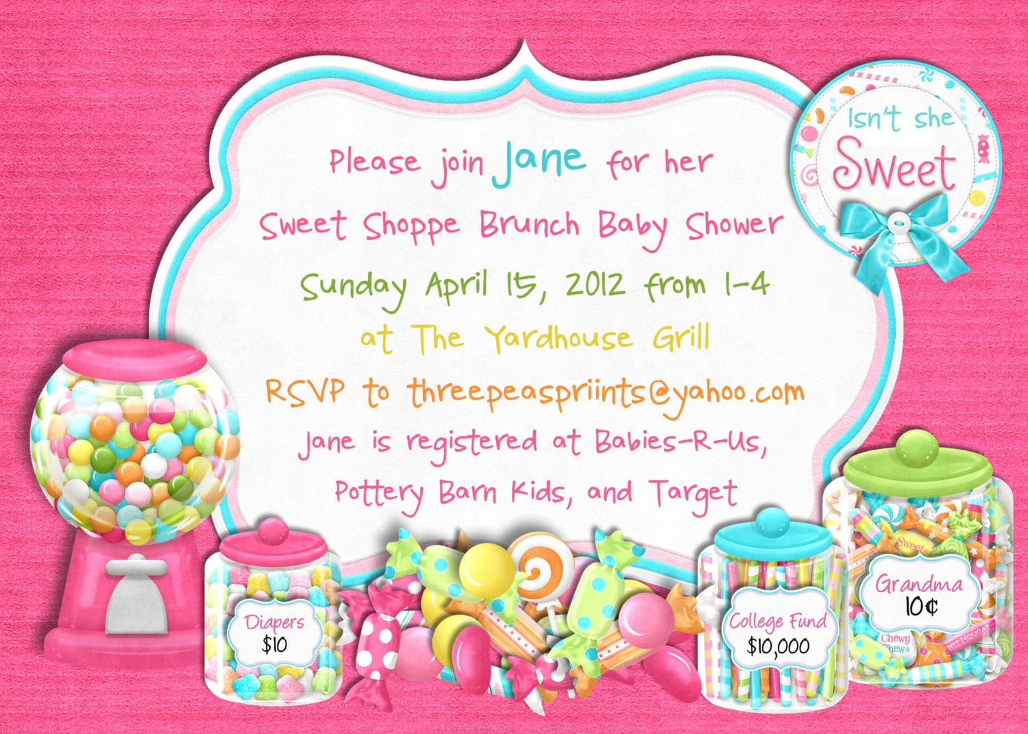 Free Party City Baby Shower Invitations Ideas — All Invitations Ideas