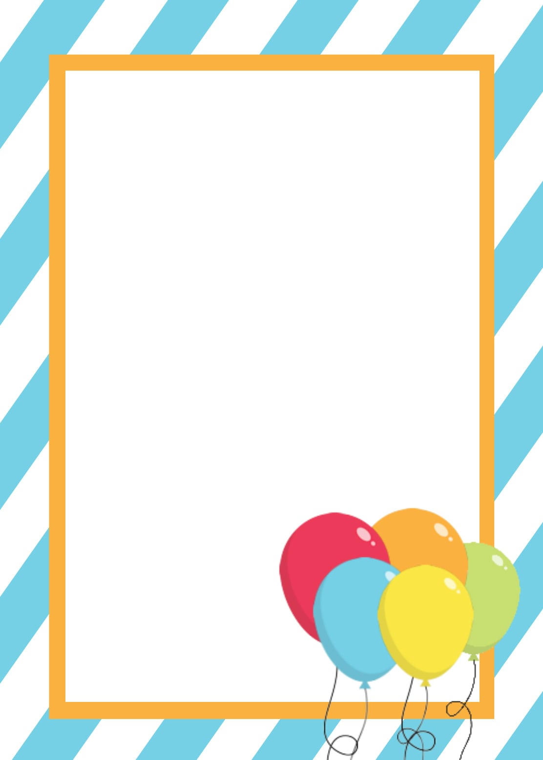 Birthday Party Invitations Free Printable Templates