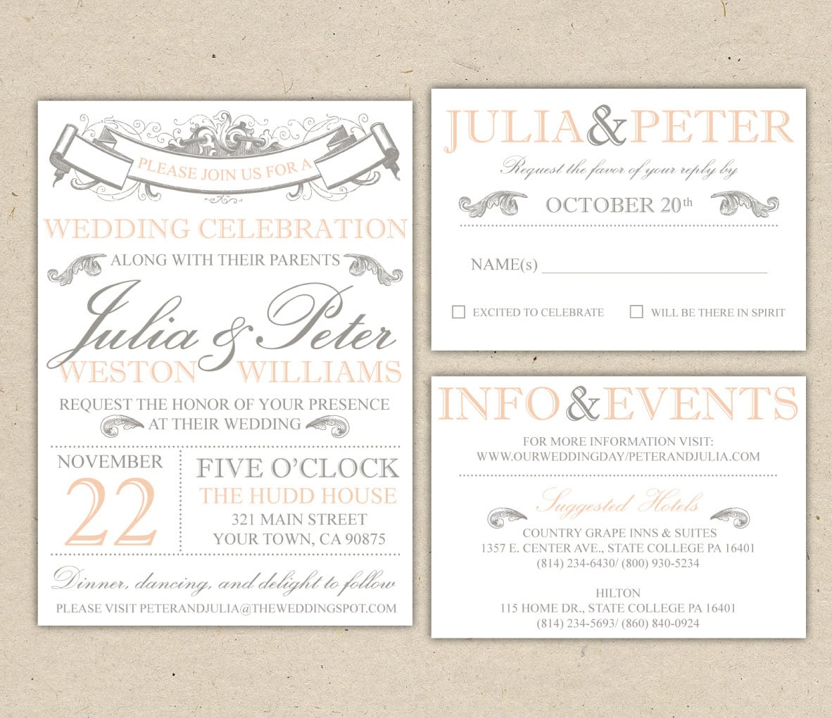 Free Printable Engagement Invitations Templates