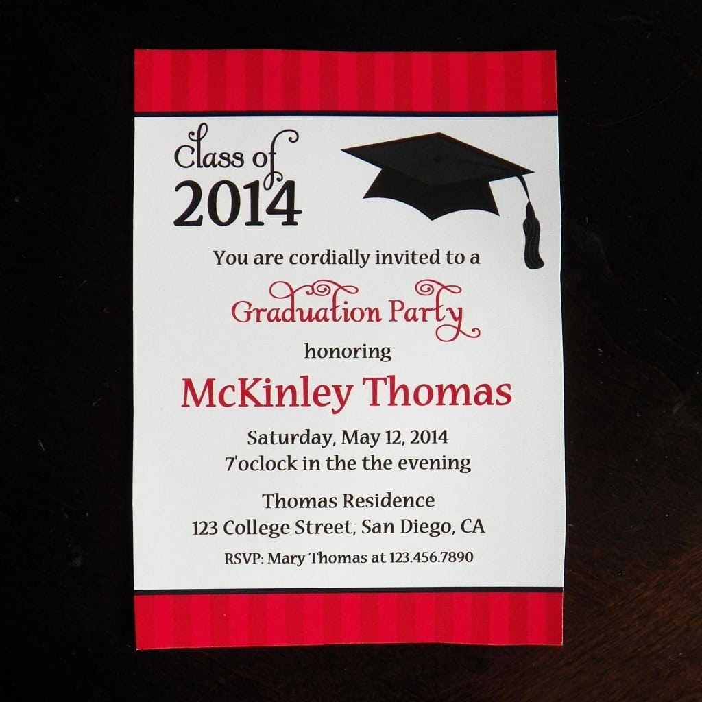 Free Templates For Graduation Party Invites