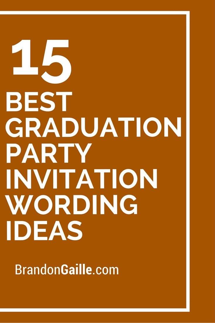 Grad Party Invitation Templates