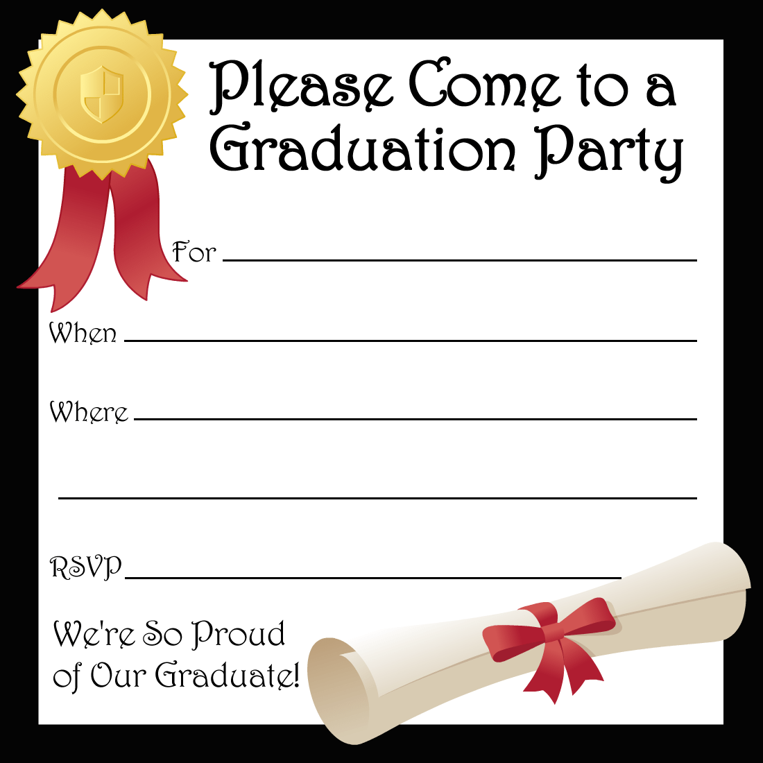 Invitation Party Templates