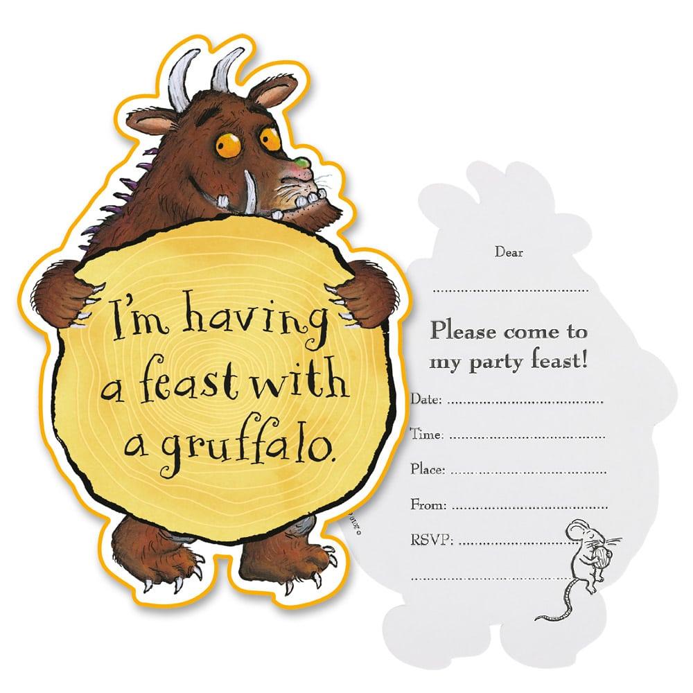 Gruffalo Invitation Cards