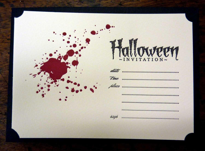 Halloween ~ Halloween Party Invitations Templates U Stylish Ideas