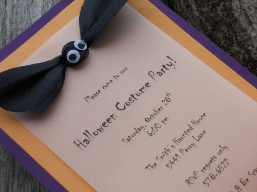 Homemade Halloween Party Invitation Ideas – Fun For Christmas