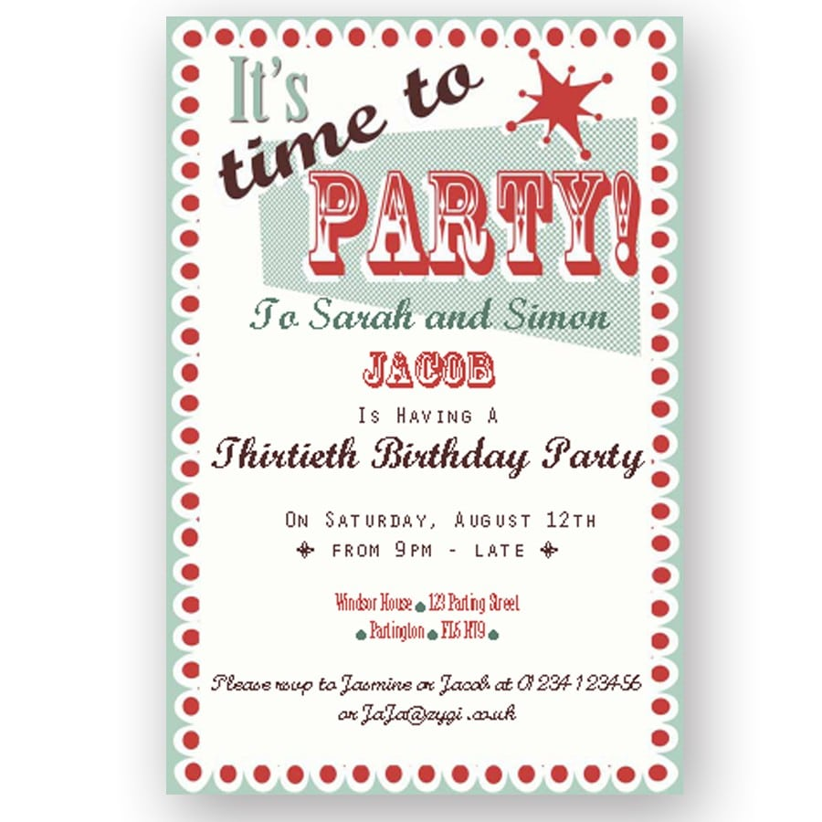 How to write an invitation to a party altavistaventures Image collections