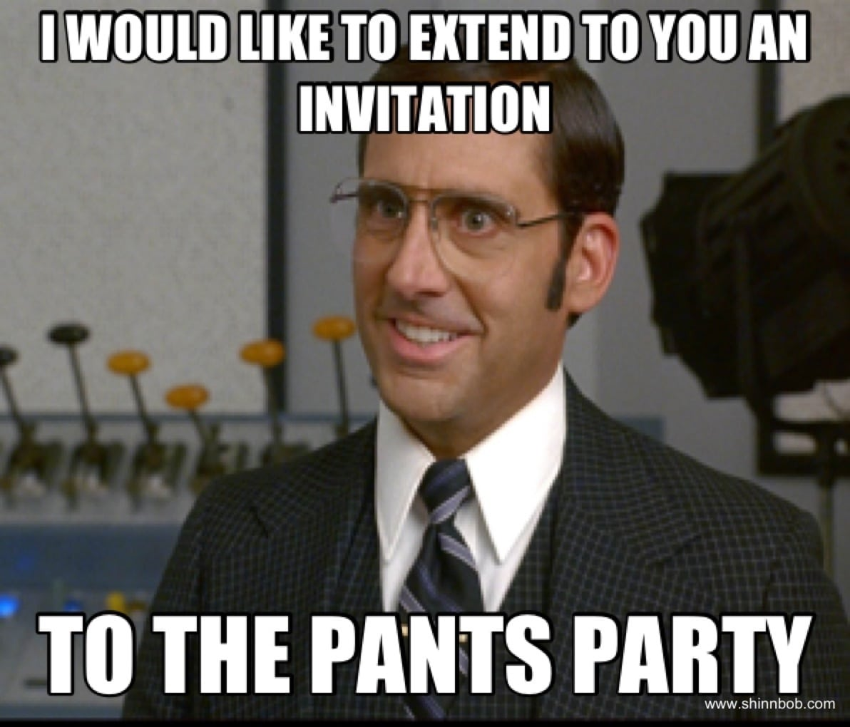 Invitation To The Pants Party
